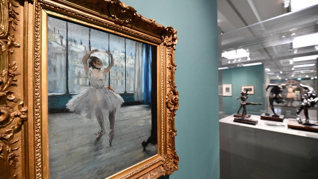 Vue d'exposition - Degas à l'opéra - Musée d'Orsay Paris (3)