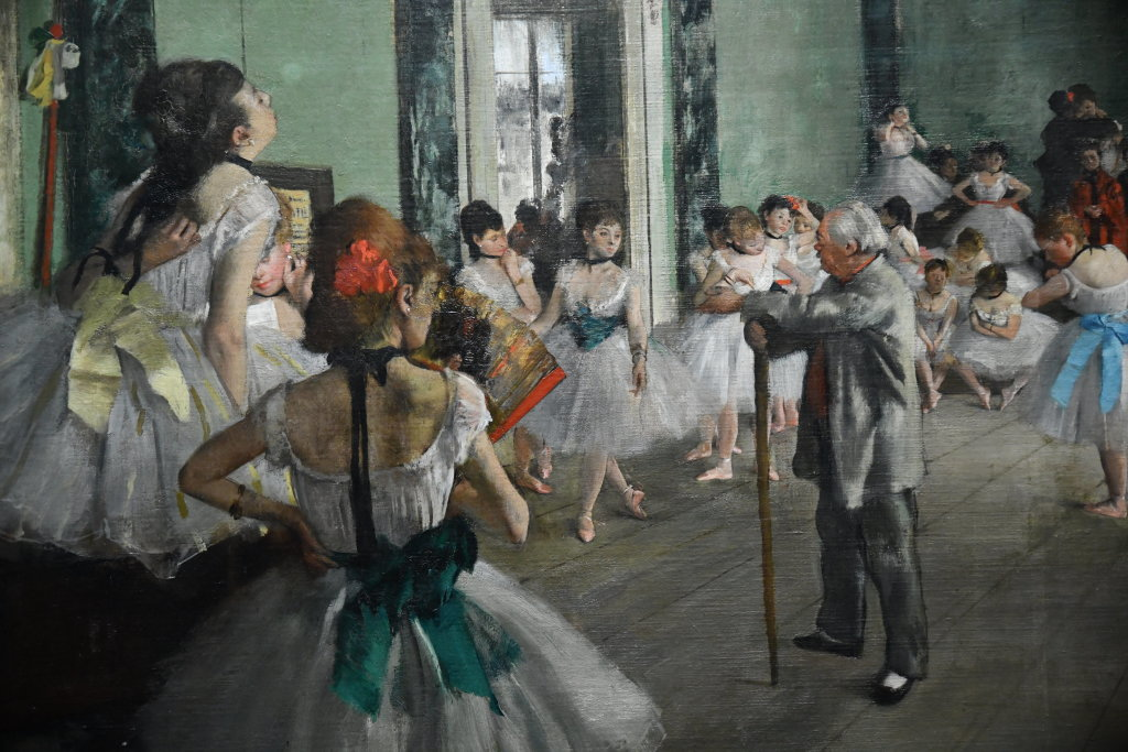 """Vue de l'exposition """"Degas à l'opéra"""""""