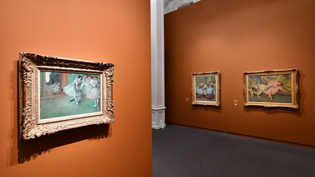 Vue d'exposition - Degas à l'opéra - Musée d'Orsay Paris (5)