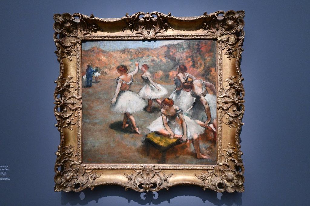 Vue d'exposition - Degas à l'opéra - Musée d'Orsay Paris (6)