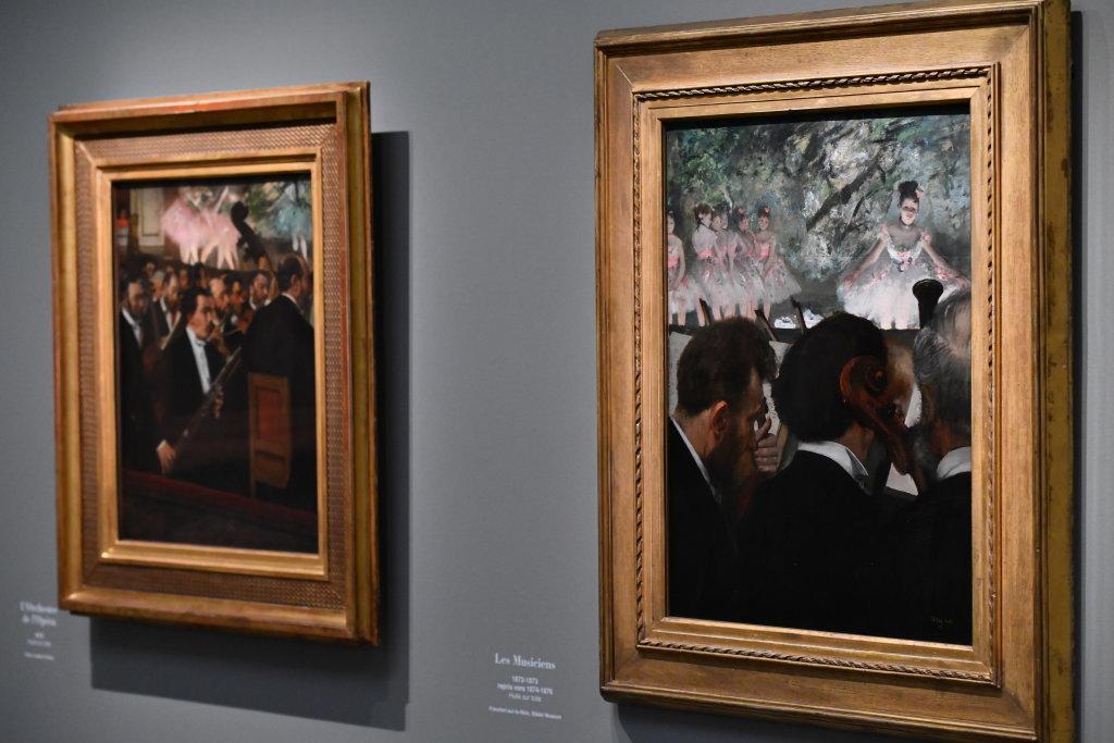 Vue d'exposition - Degas à l'opéra - Musée d'Orsay Paris (7)