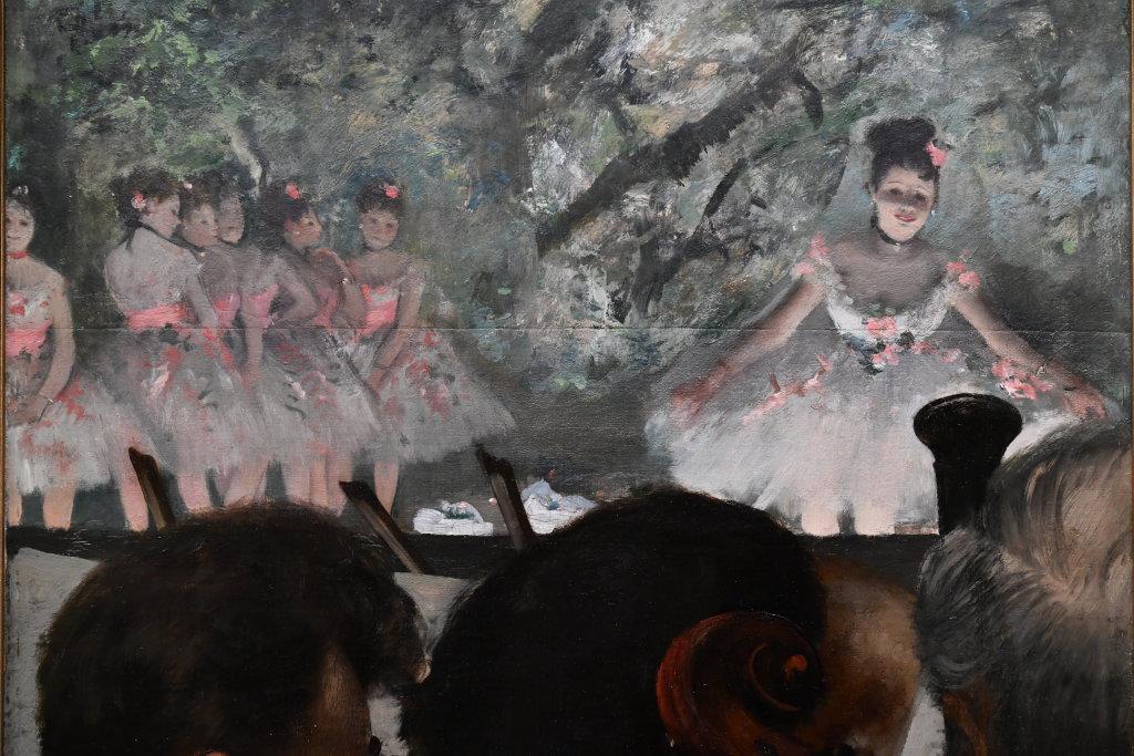 Vue d'exposition - Degas à l'opéra - Musée d'Orsay Paris (8)