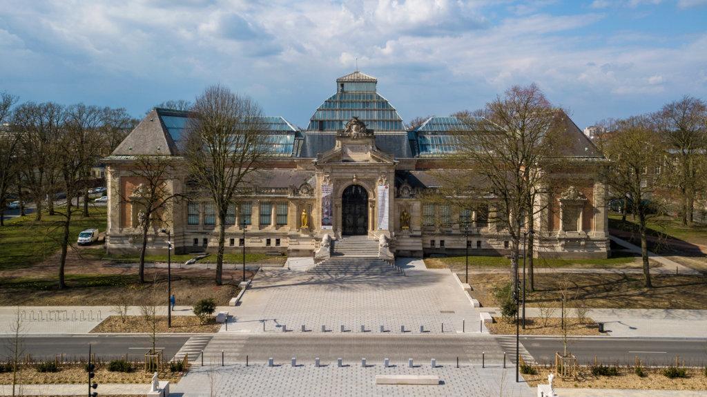 Vue du Musée des Beaux-Arts de Valenciennes