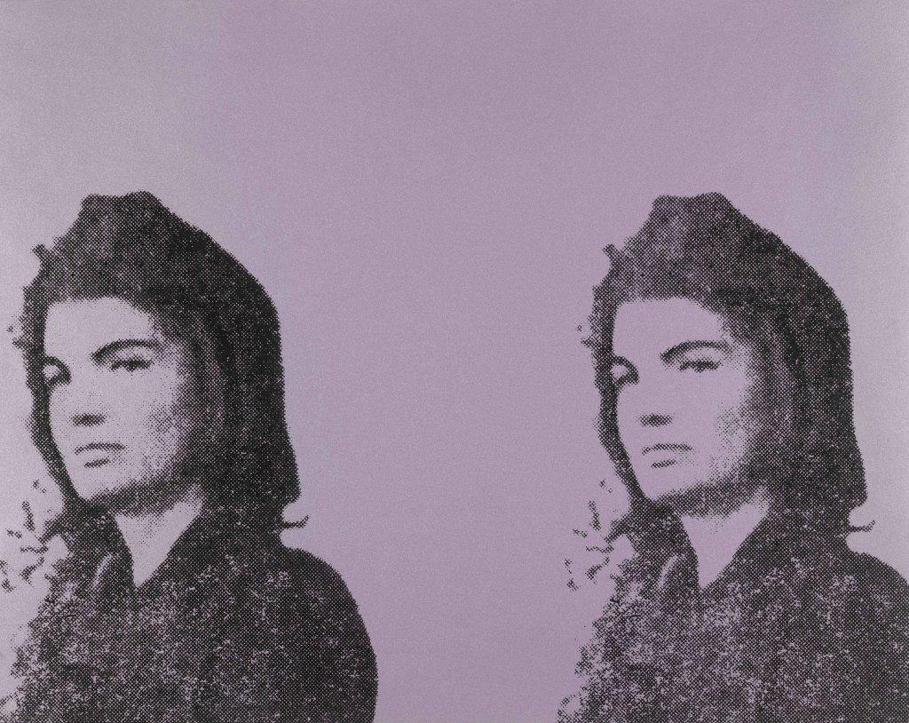 Andy Warhol, Jackie II, du portfolio 11 Pop Artists, vol. II, 1965, publié 1966