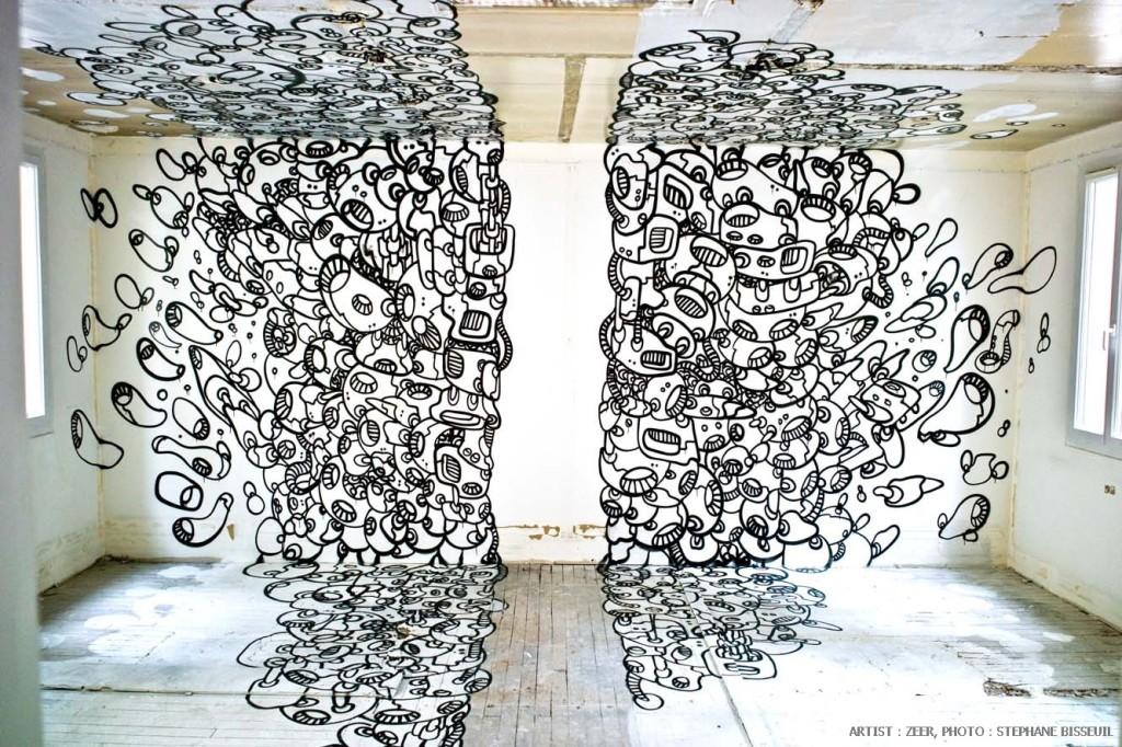 Le module de Zeer - Résidence d'artistes Les Bains