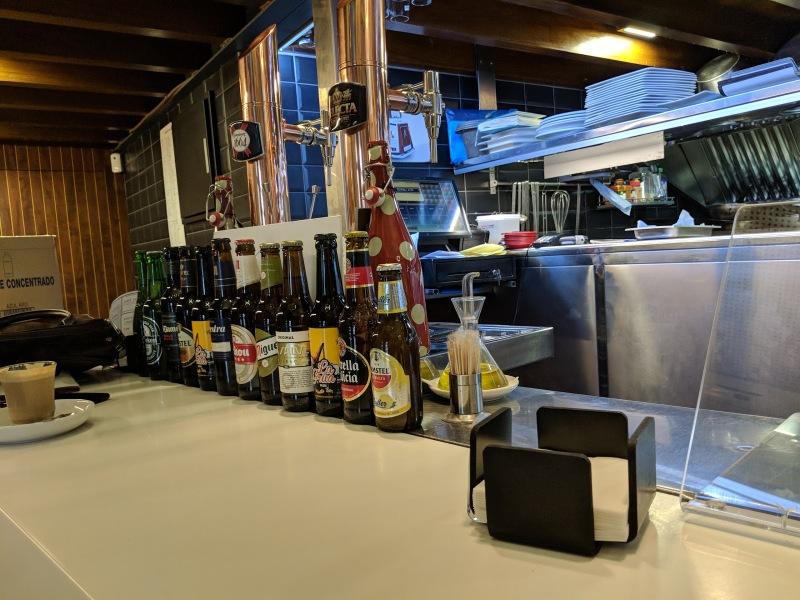 Zissou resto bar vue du bar
