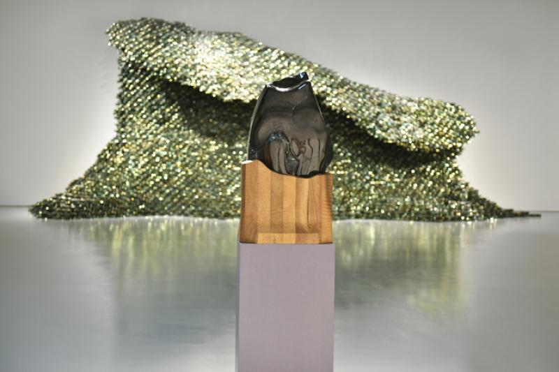 Vue de l'exposition Face à l'obscurité, Jean-Michel Othoniel - MAMC Saint-Etienne