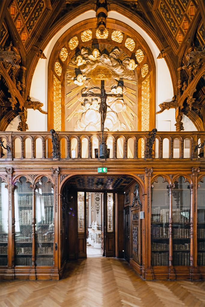 Vue de la salle gothique