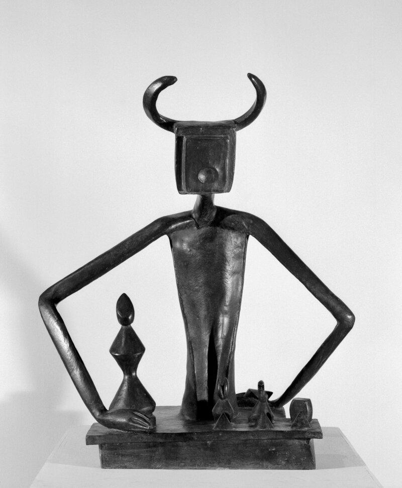 Ernst Max (1891-1976). Paris, Centre Pompidou - Musée national d'art moderne - Centre de création industrielle. AM2004-50.