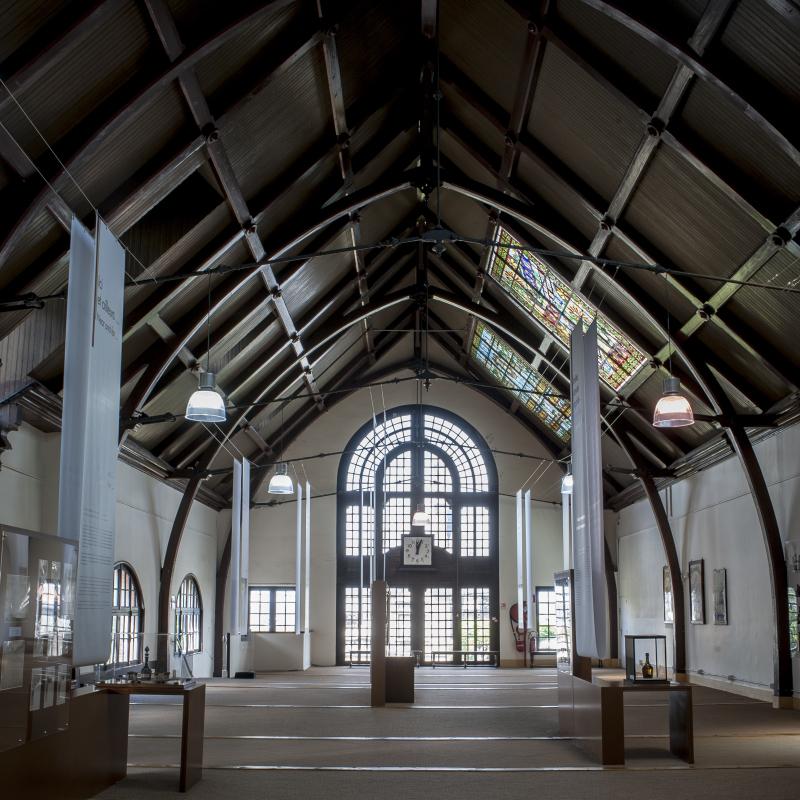 Vue du Palais Bénédictine, Fécamp - Salle Alexandre Le Grand