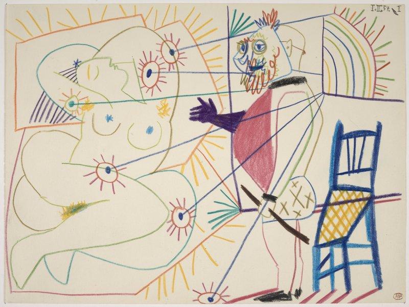 Picasso Pablo (dit), Ruiz Picasso Pablo (1881-1973). Paris, musée national Picasso - Paris. MP1420.