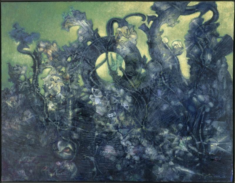 Ernst Max (1891-1976). Saint-Etienne, musée d'Art Moderne. AM1982-189.