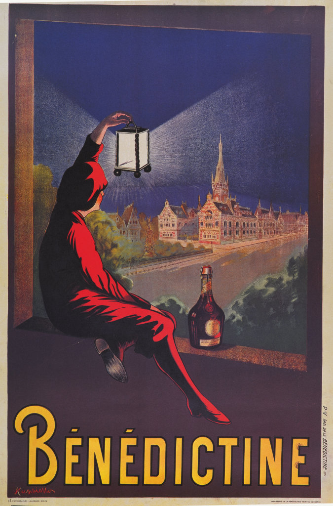 Pub ancienne pour la liqueur Bénédictine - Cappielo