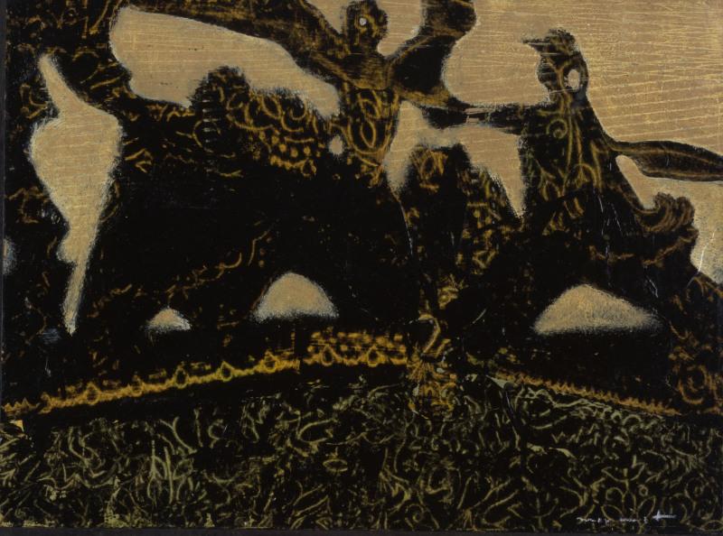 Max Ernst, Les barbares marchent vers l'ouest. Coll part.