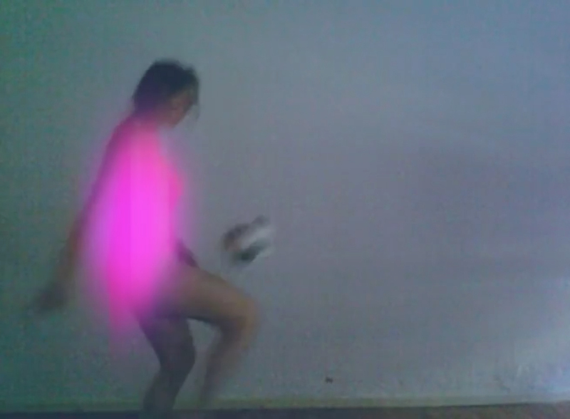 Petra Cortright,footvball/faerie, 2009