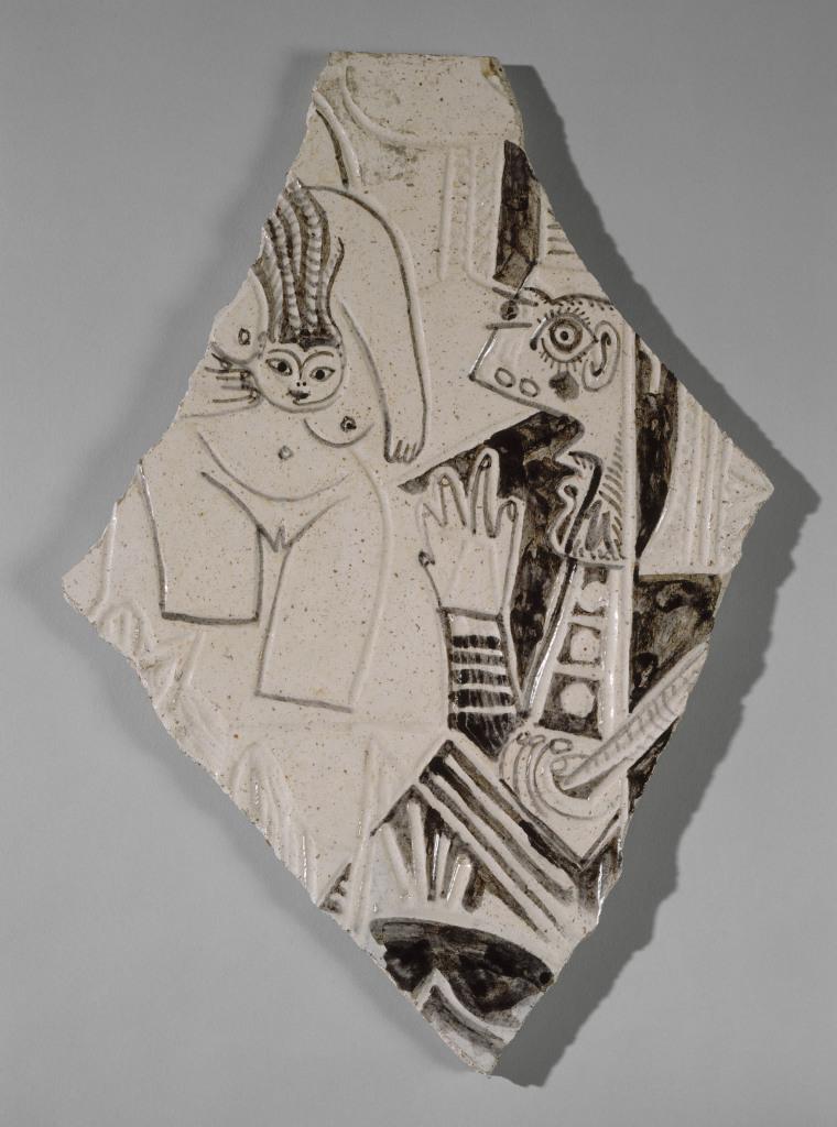 Pablo Picasso, Plat long décoré d'une scène de tauromachie