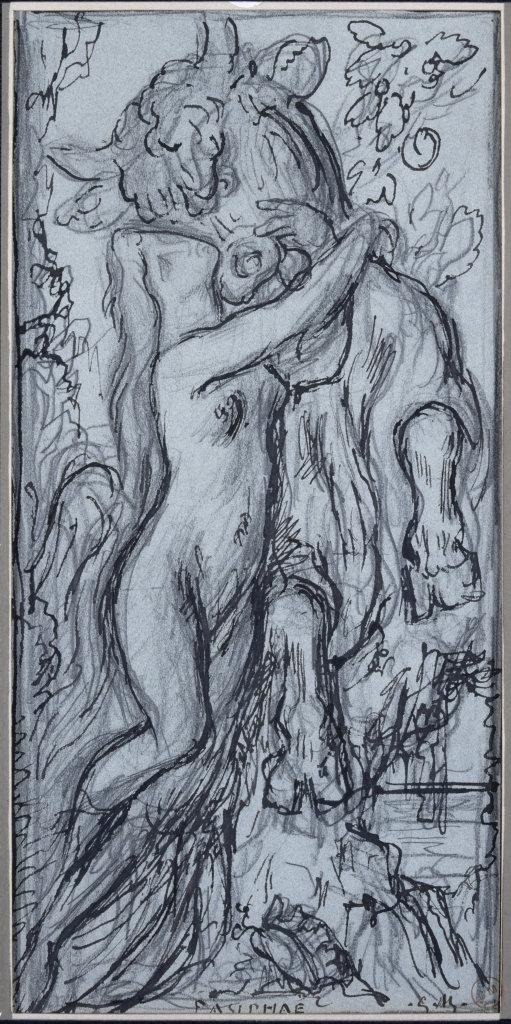 Gustave Moreau, Pasiphaé