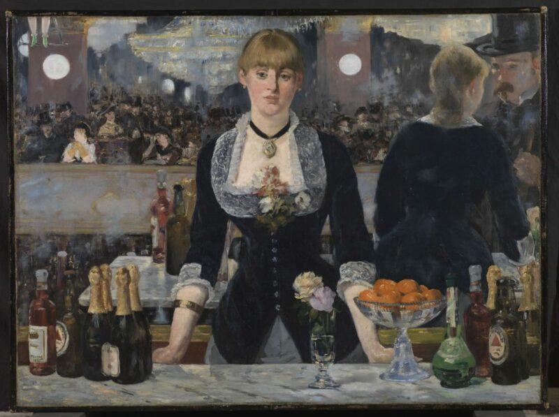 A Bar at the Folies-Bergère, 1882, Manet, Edouard (1832-1883). Object id P.1934.SC.234