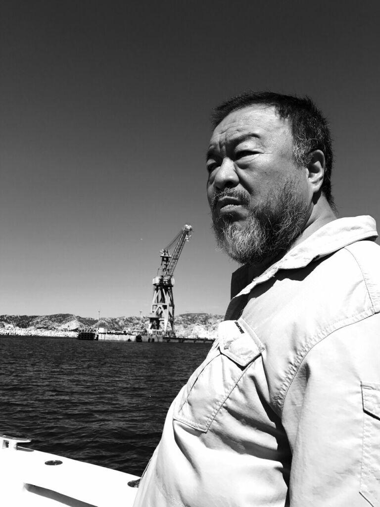Ai Weiwei, 2017 (c) Judith Benhamou-Huet