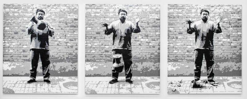 Ai Weiwei Dropping a Han Dynasty Urn, 2015 (c )Image Courtesy Ai Weiwei studio