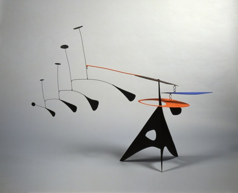 Alexander Calder, Blue Feather, 1948