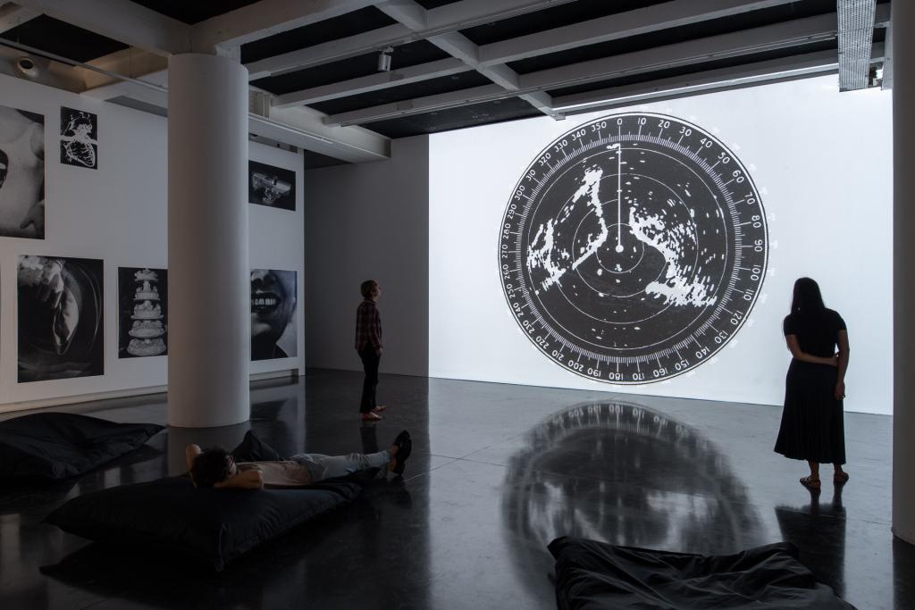 Vue de l'exposition BATIA SUTER - Radial Grammar au Bal