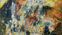 - Benanteur, CFL 1989 Le Courroux. Huile sur toile, 195 x 130 cm