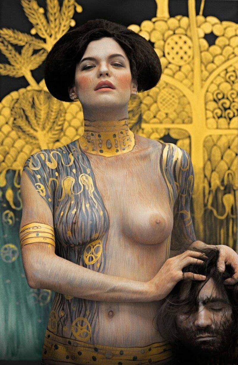 bodypainting inspiration Gustav Klimt