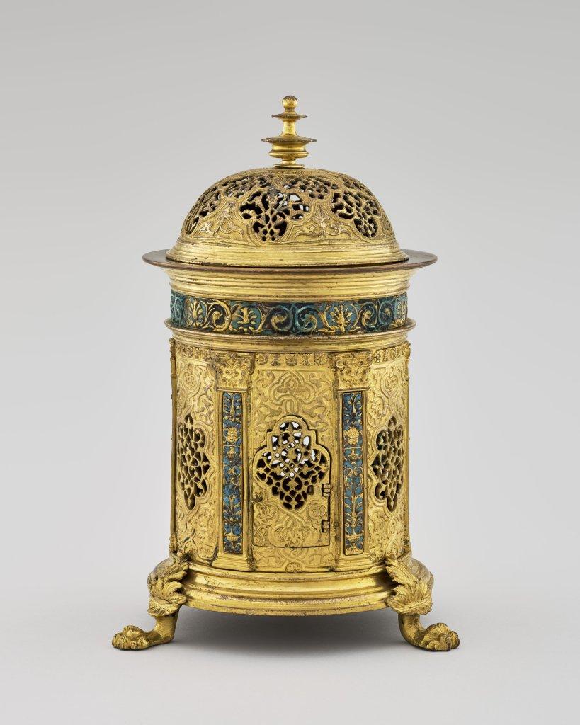 Brûle-parfums fin XVIe, musée de la Renaissance, château d'Ecouen