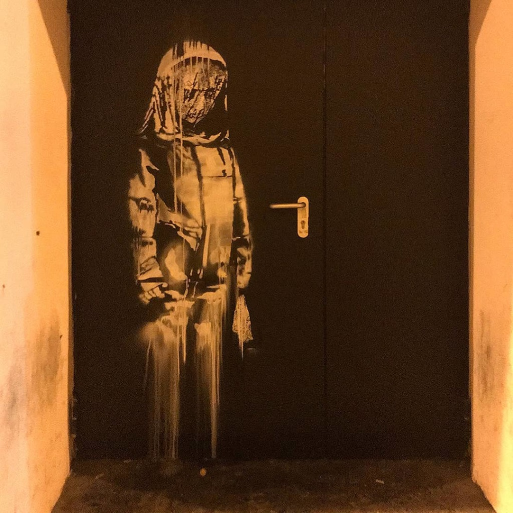 © Banksy - Bataclan's fire door