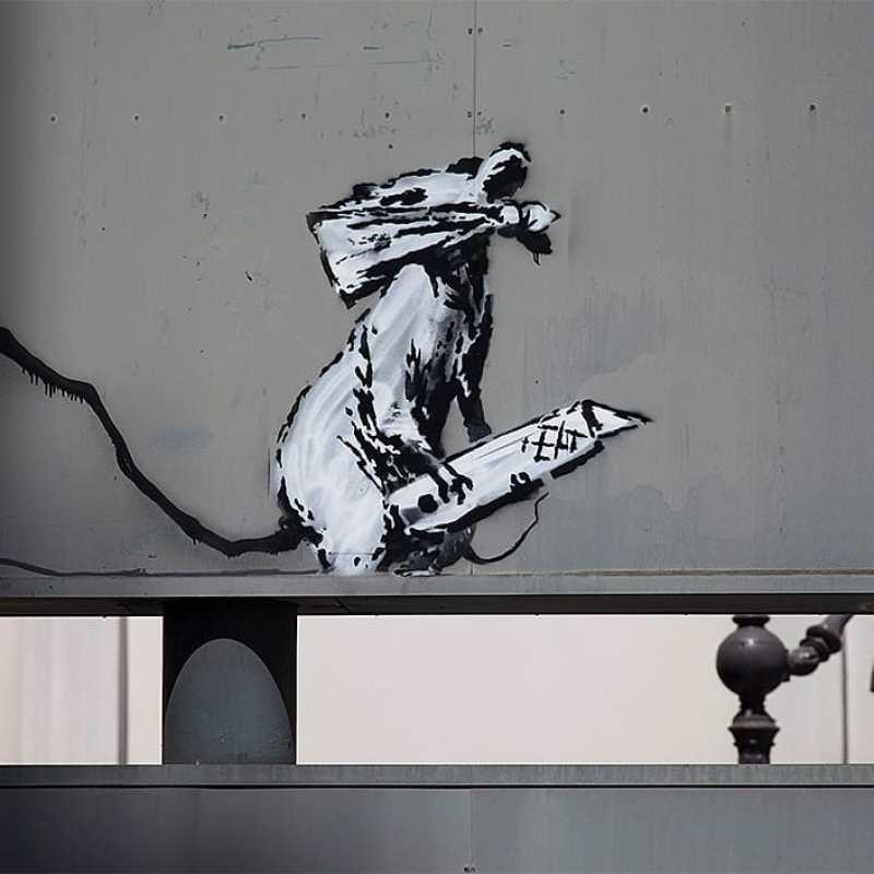 © Banksy - Cut Rat