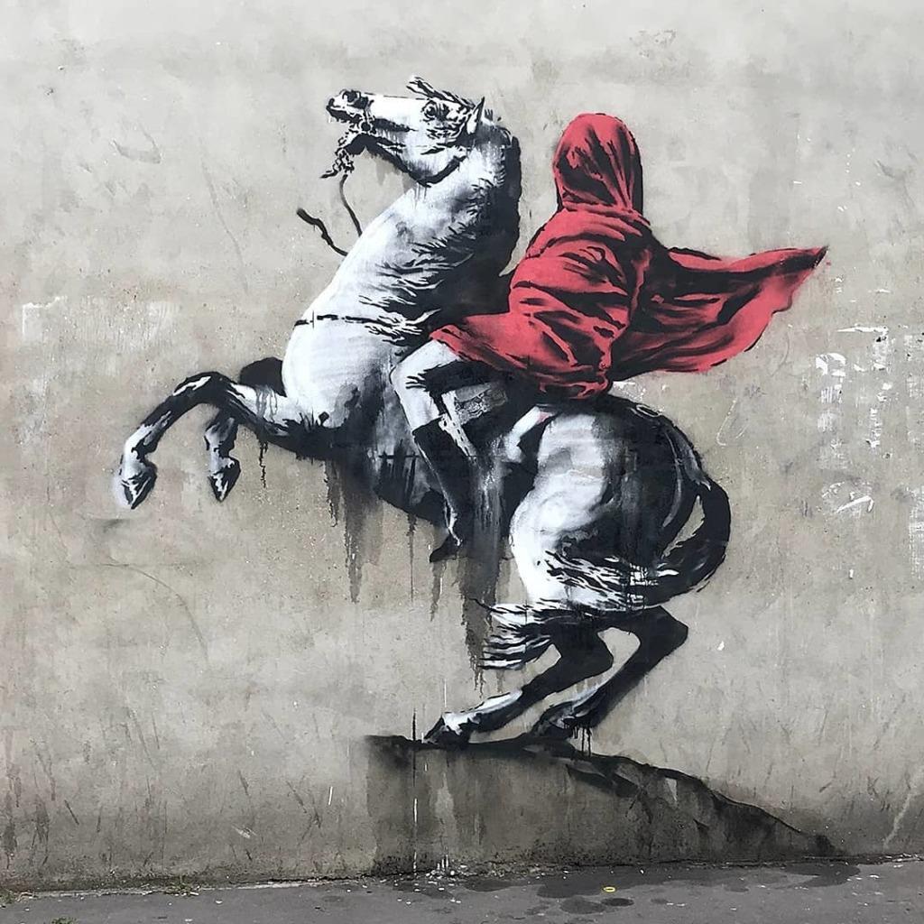 © Banksy - Rider