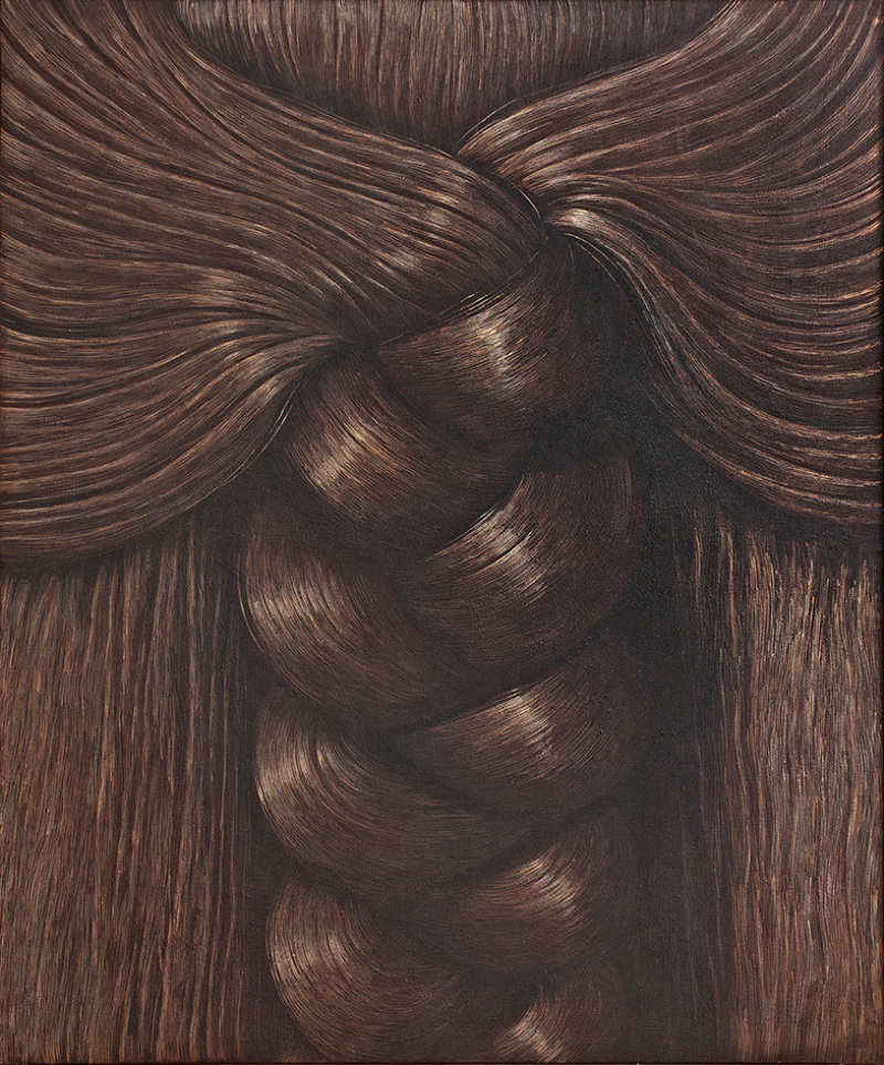 © Domenico Gnoli, Braid, 1969