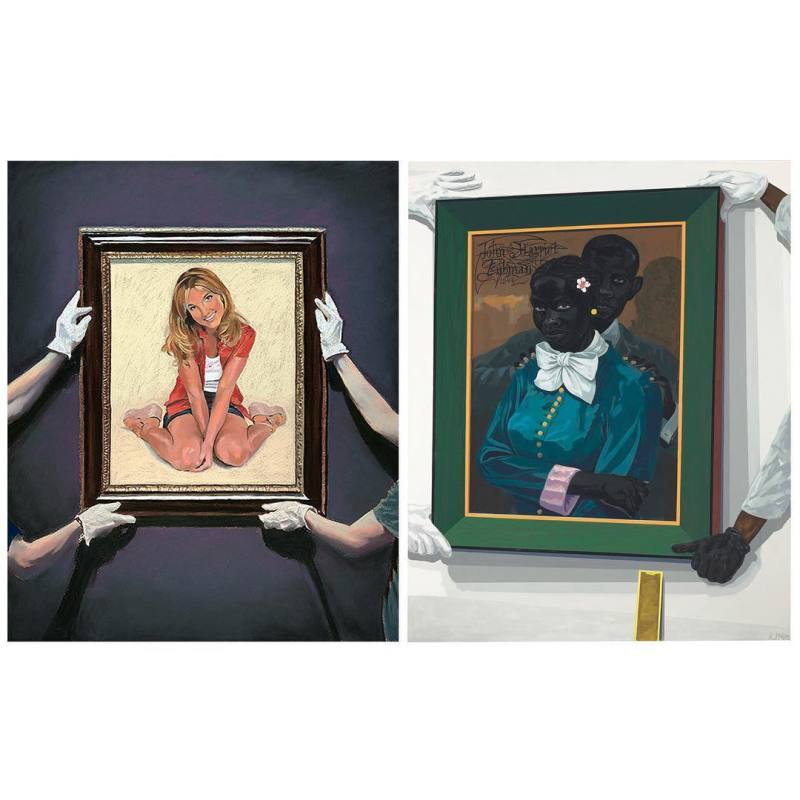 © Who's who - Eric Yahnker VS Kerry James Marshall