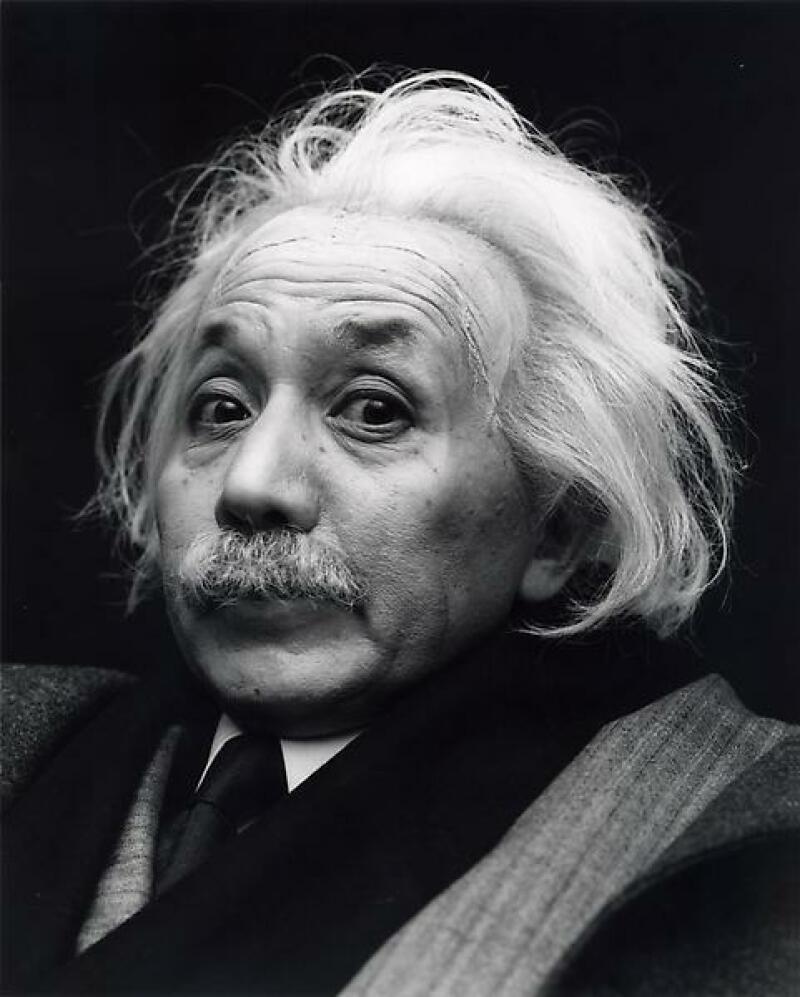 © Yasumasa Morimura - Albert Einstein