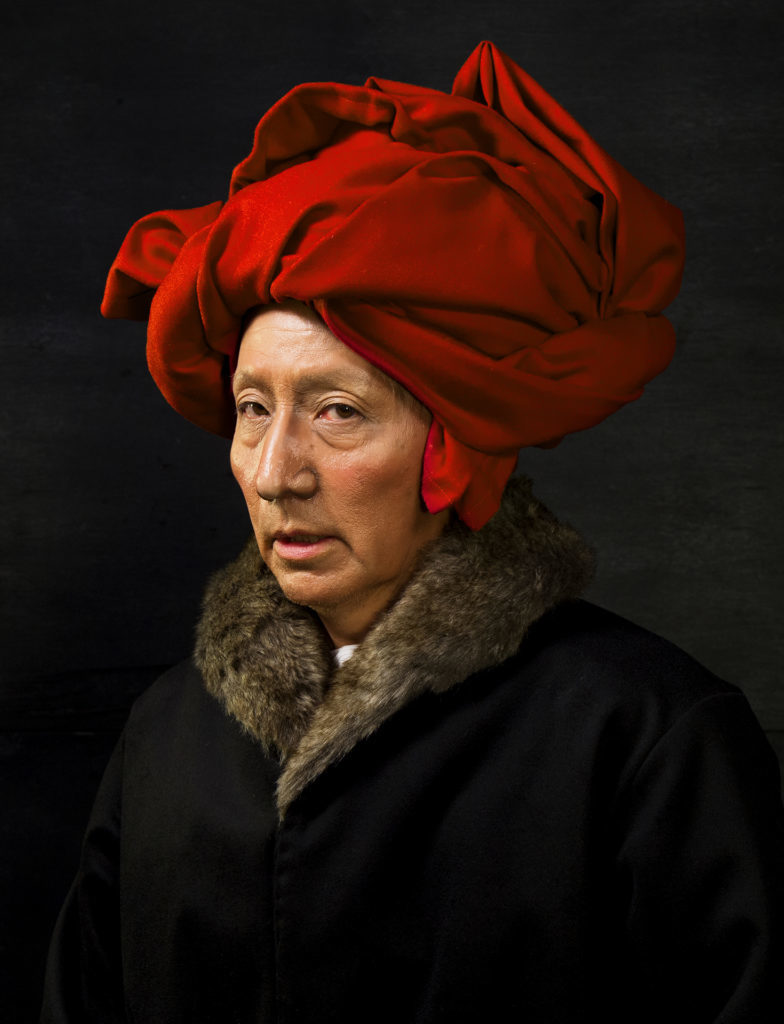 © Yasumasa Morimura - Jan van Eyck