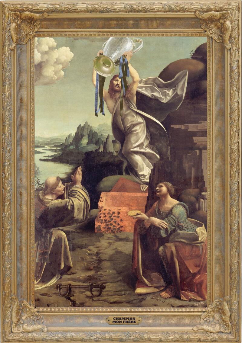 """Champion mon frère d'après""""La résurrection du Christ"""""""