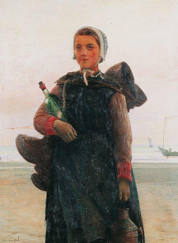 Charles Roussel, La fille du pêcheur. 1886