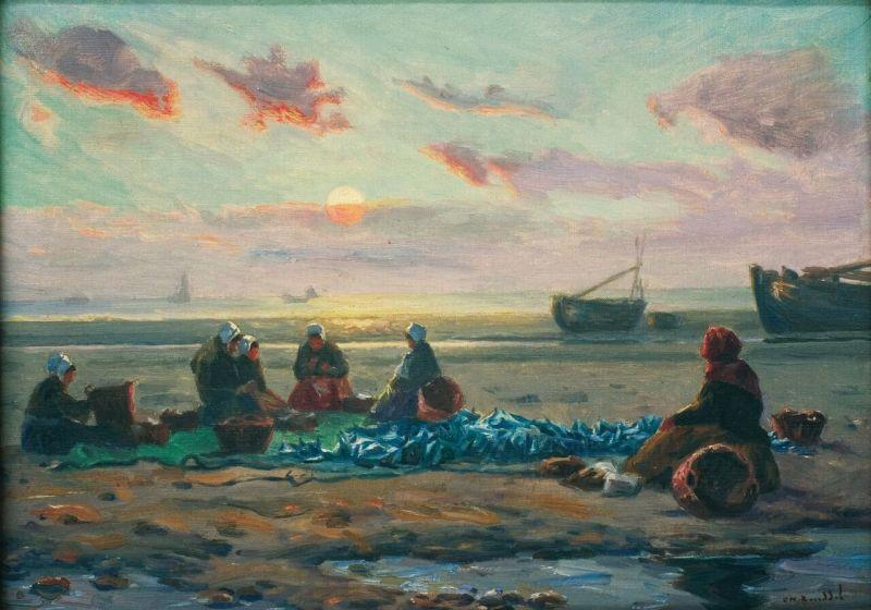 Charles Roussel, Le tri du poisson