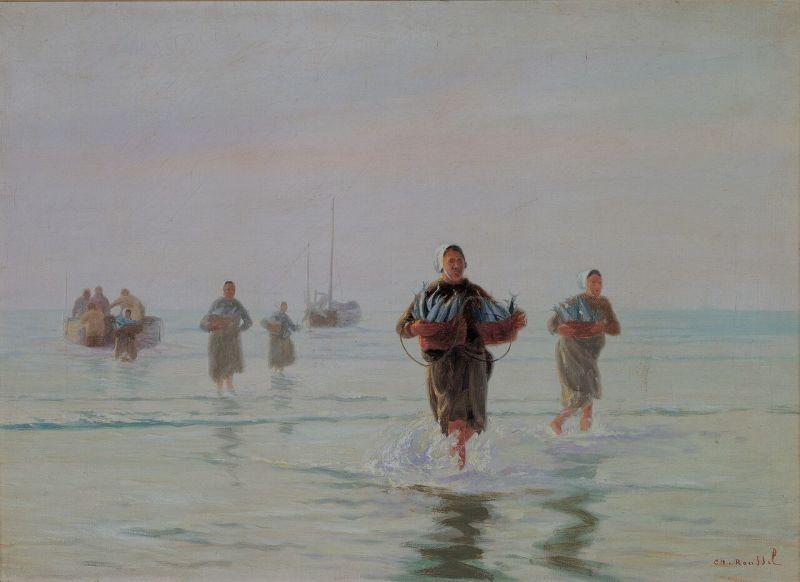 Charles Roussel, Retour de pêche au maquereau