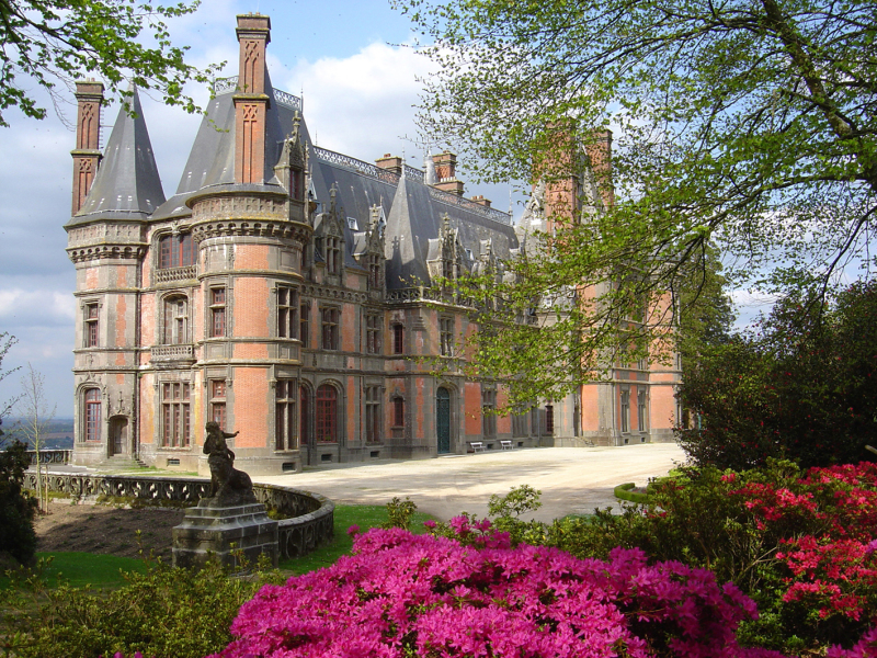Chateau-allée Moniven©CDP29