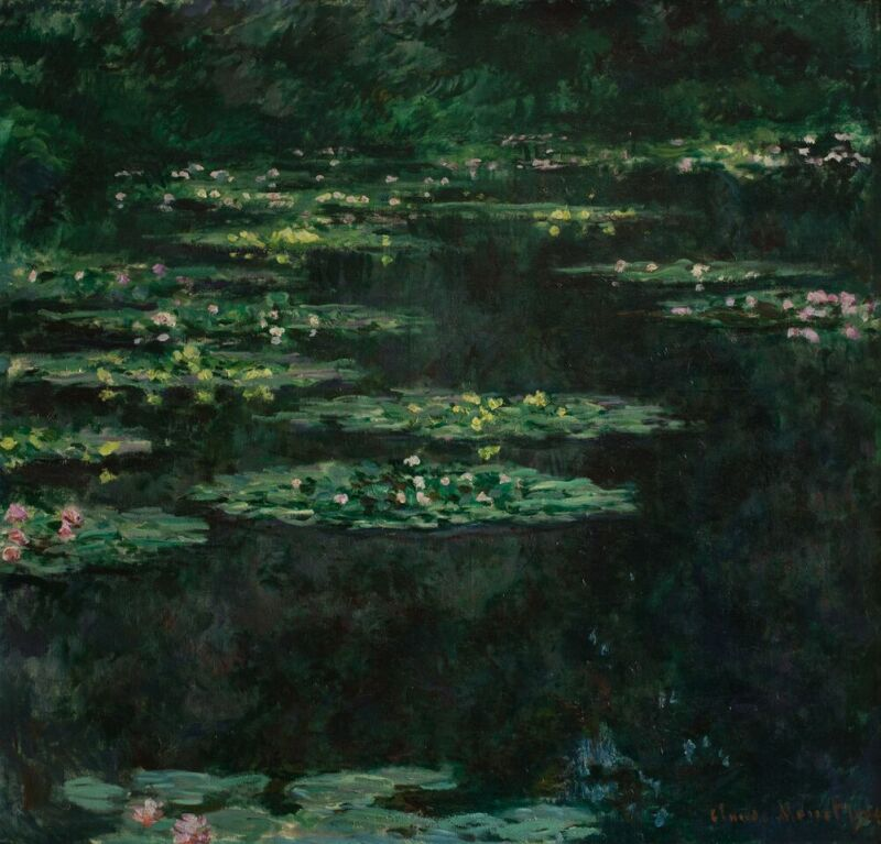 Claude MONET , Les Nymphéas, 1904 © MuMa Le Havre David Fogel