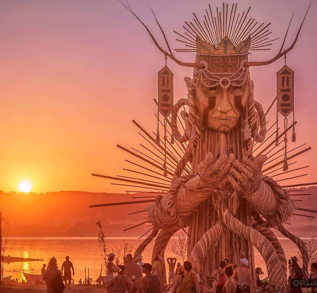 Boom festival au Portugal
