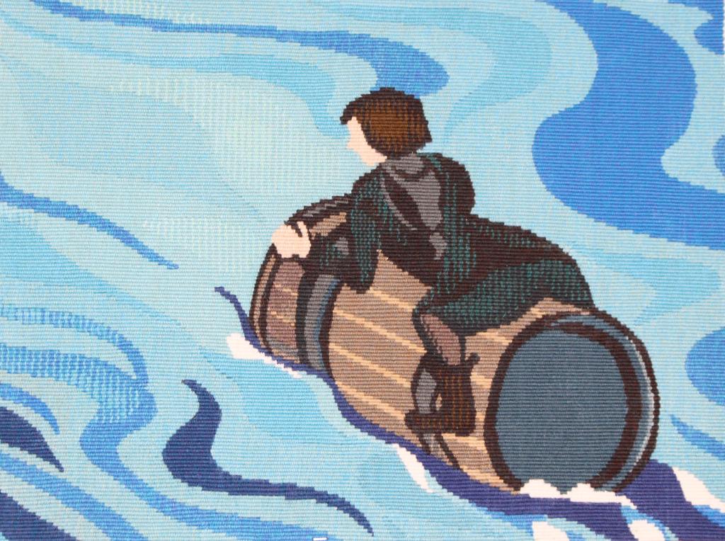 Echantillon tapisserie Tolkien