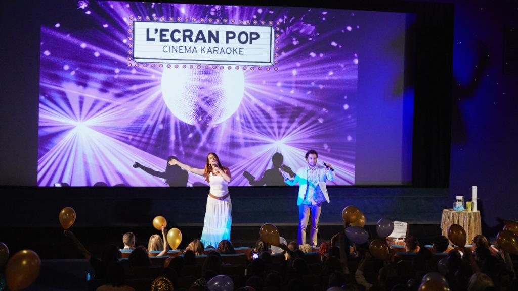 Séance cinéma karaoké L'Ecran Pop