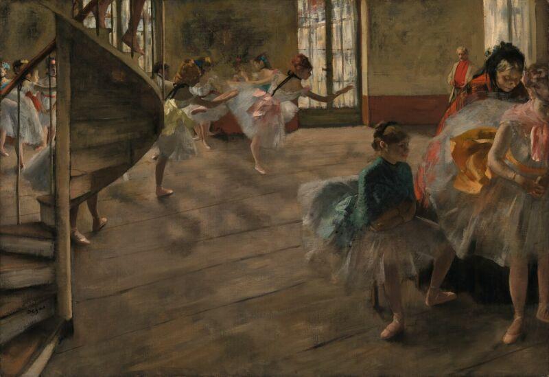 Edgar Degas (1834 -1917)La Répétition, vers 1874
