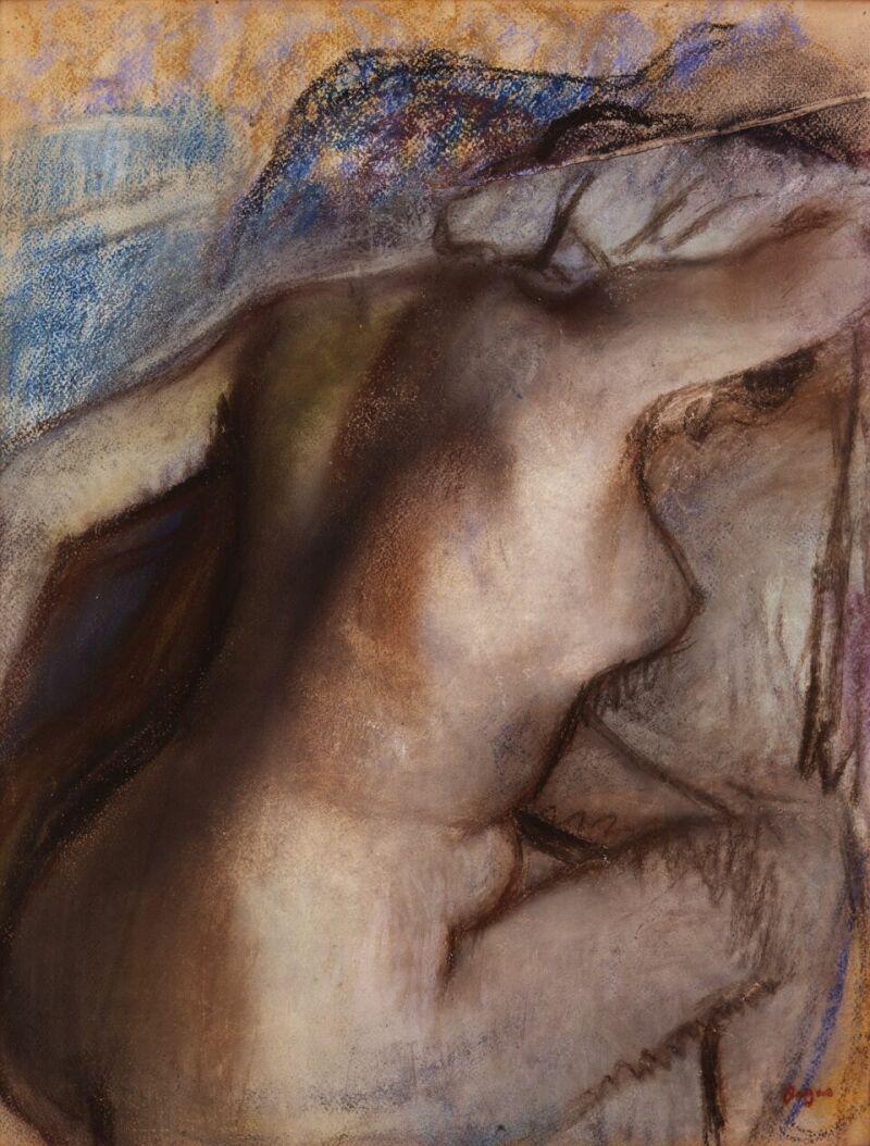 Edgar DEGAS , Après le bain, femme s'essuyant © MuMa Le Havre Florian Kleinefenn