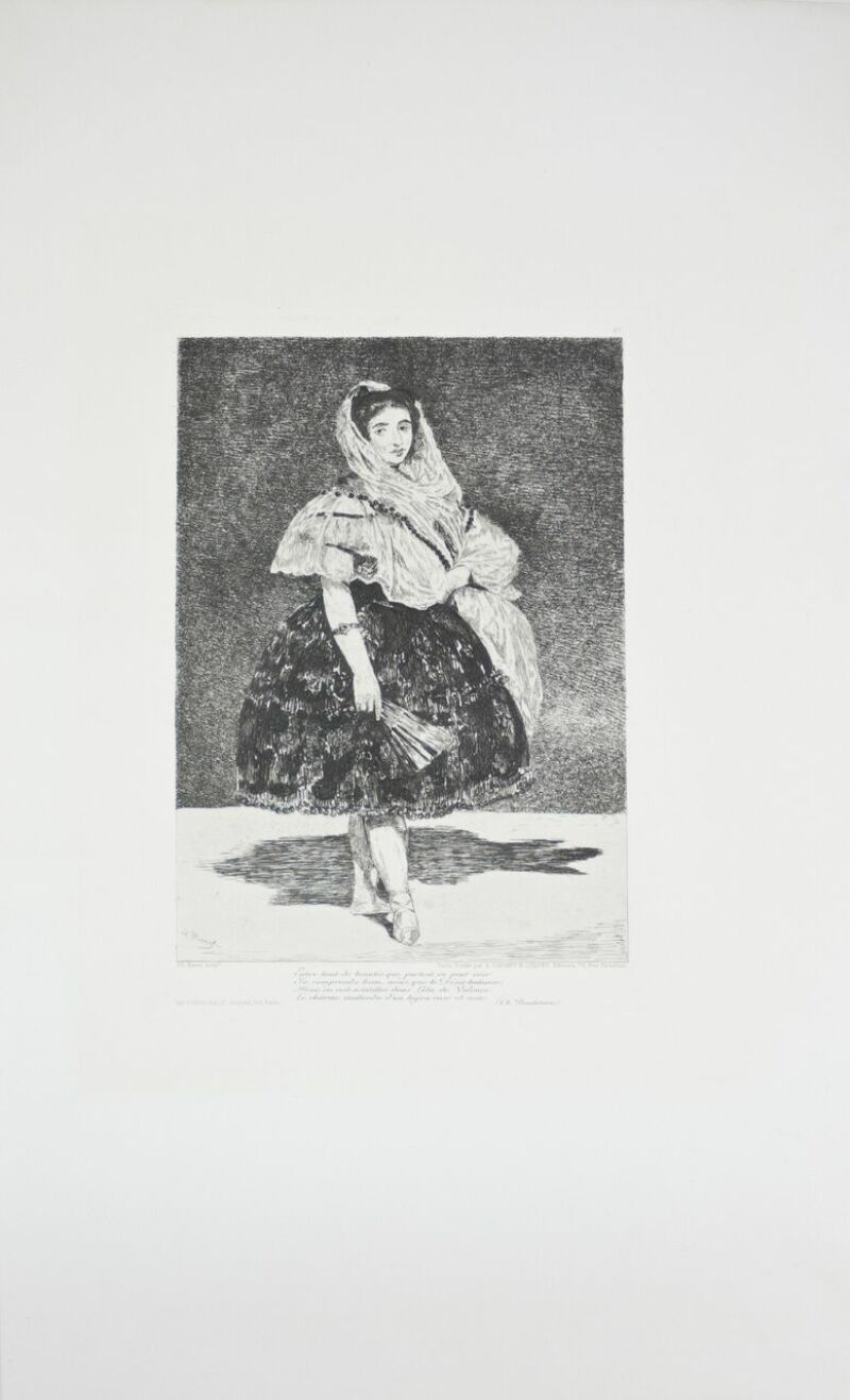 Edouard Manet, Lola de Valence, (c) Musée de Valence, photo Béatrice Roussel