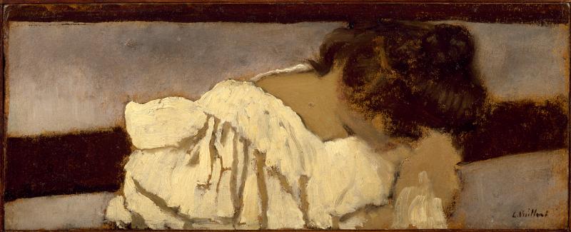 Édouard Vuillard, La Nuque de Misia, 1897-1899 Collection particulière – droits réservés