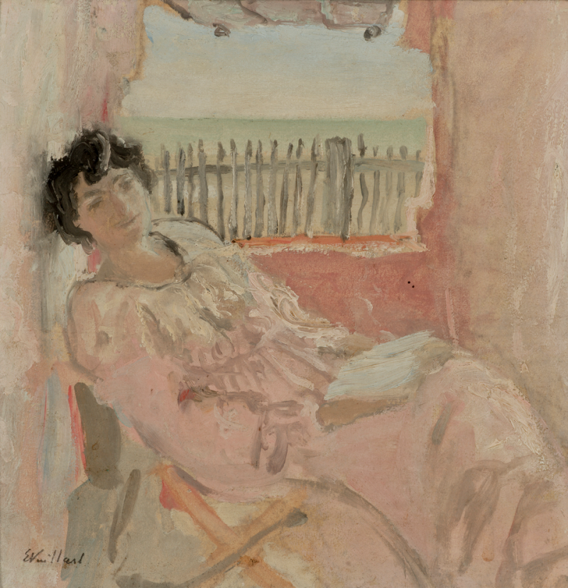 Édouard Vuillard, Madame Hessel rêvant au bord de mer, 1902 Hammer Museum, Los Angeles, USA, collection Armand Hammer, don de la fondation Armand Hammer